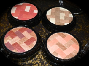 Clockwise from Top Left: Pink Rose, Natural (LE), Nude, Mauve